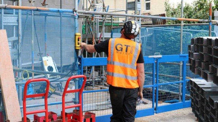 Rack & Pinion Hoist Hire | Industrial & Construction | GTI Hoists